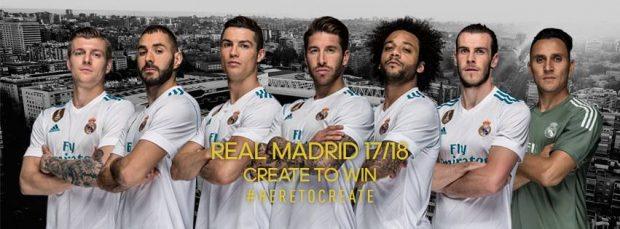 Daftar Pemain Real Madrid 2017-2018