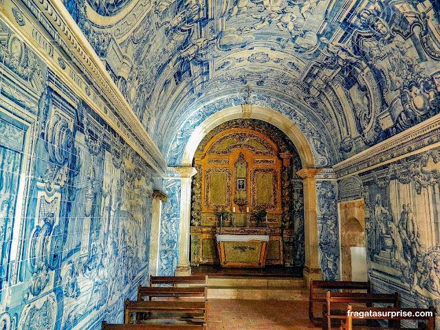 Capela do Castelo de São Filipe, em Setúbal, Portugal