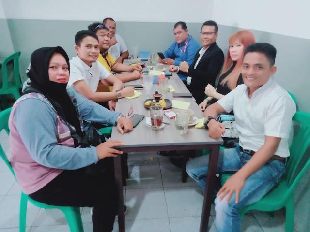 Ketua Umum dan Pengurus PJID Riau, Sepakat Laporkan Kasus Penghinaan
