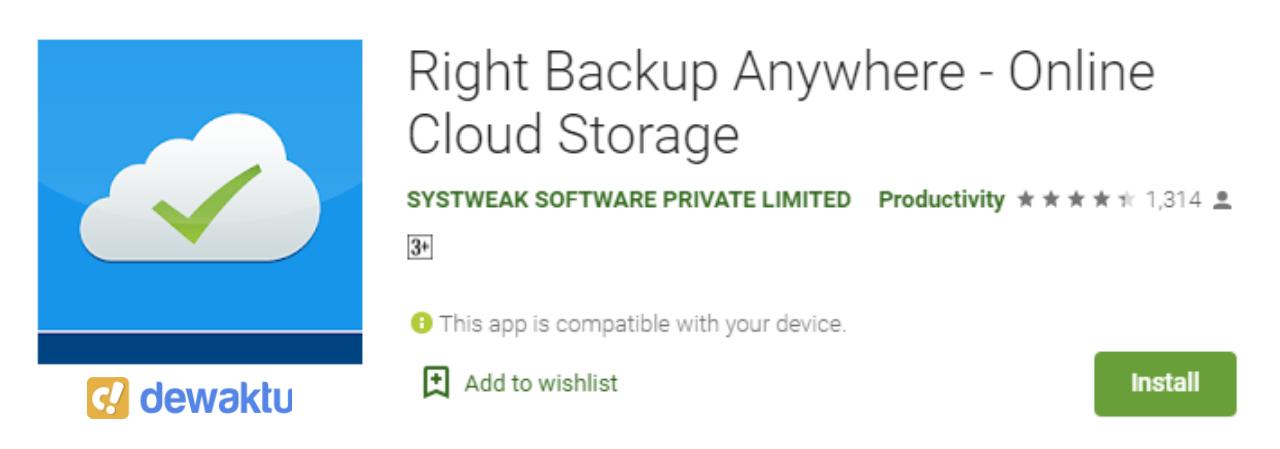 backup aplikasi dan data di android tanpa root