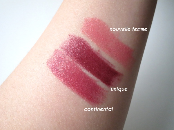Dior fall 2015 Cosmopolite limited edition - Rouge Dior lipstick swatches