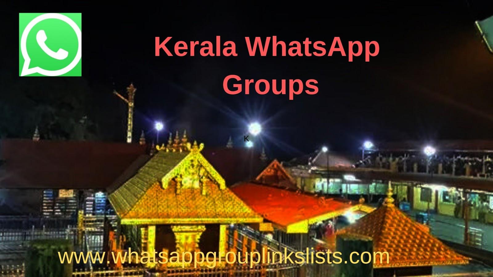 Join Kerala Whatsapp Group Links List