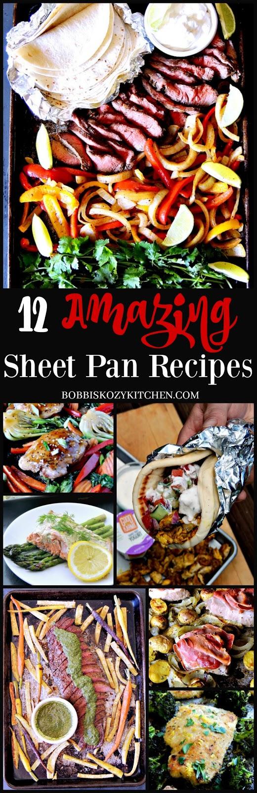 12 Amazing Sheet Pan Recipes from www.bobbiskozykitchen.com