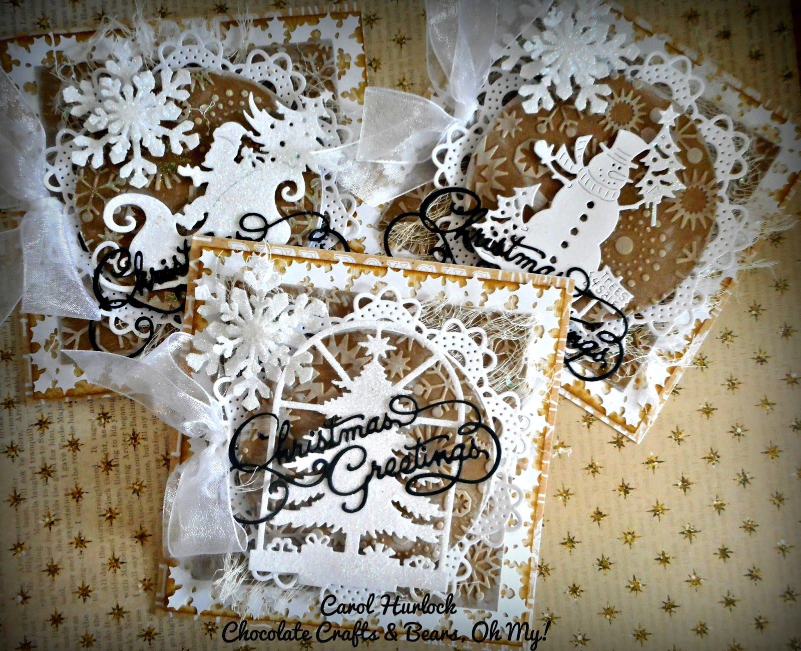 Chocolate Crafts and Bears, Oh My: CottageCutz Shabby Chic ...