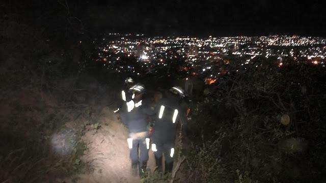 Pitbull é resgatado pelo corpo de bombeiros  após passar mal durante passeio com os donos em Barreiras