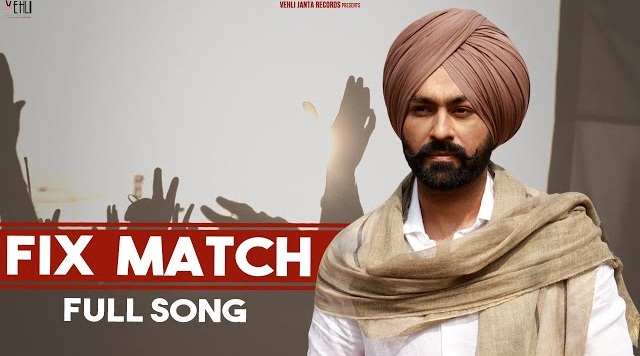 Fix Match Lyrics By Tarsem Jassar