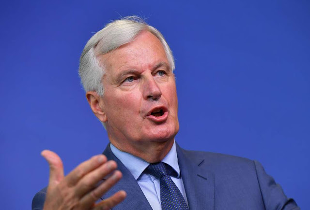 Michel Barnier 'strongly opposed' to May's Brexit plan