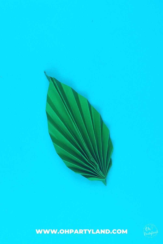 how-to-make-paper-leaf