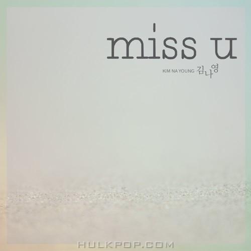 KIM NA YOUNG – miss u – Single