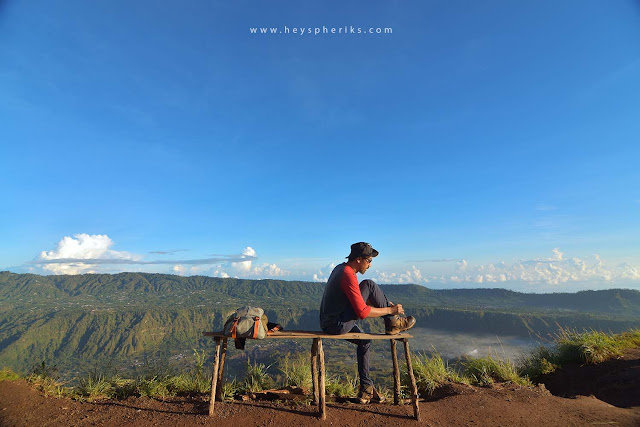 Pemandangan Kaldera Gunung Batur