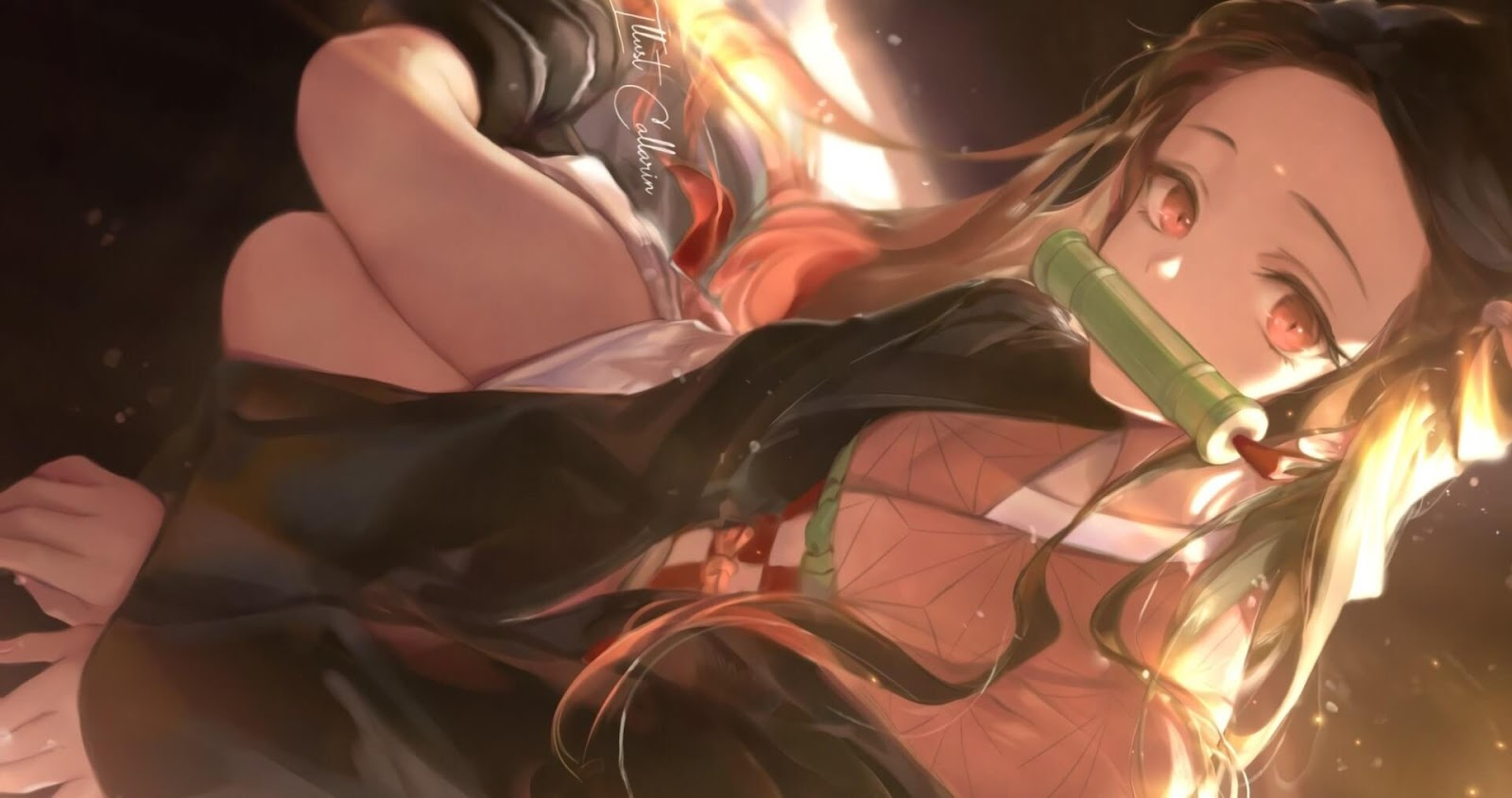 Nezuko Kamado The Demon Imouto [Wallpaper Engine Anime]