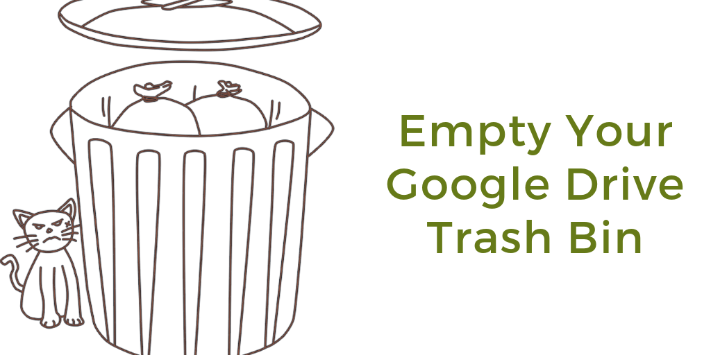 Free Technology for Teachers: Reminder - Empty Your Google