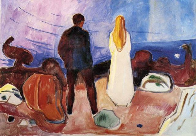 Эдвард Мунк - Одинокие. 1935