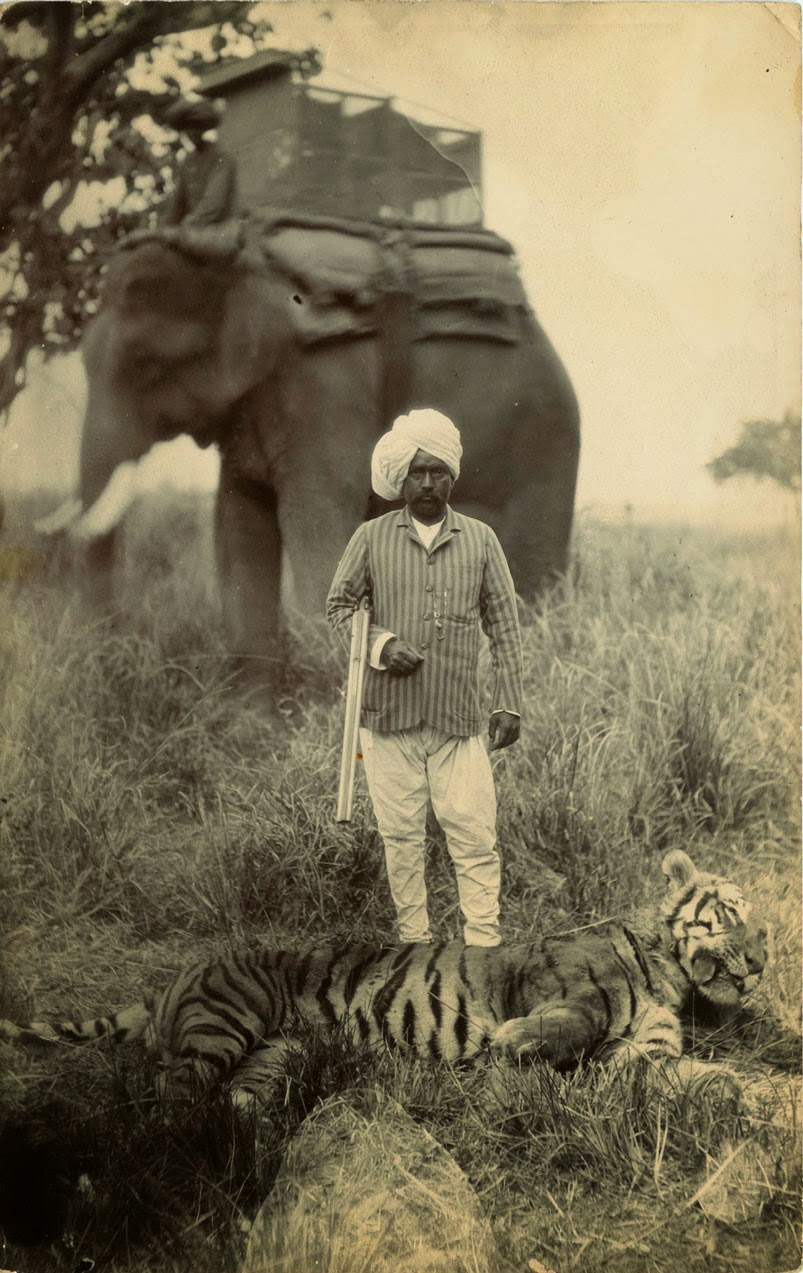 British Hunting in India ca 1920s  vintage everyday