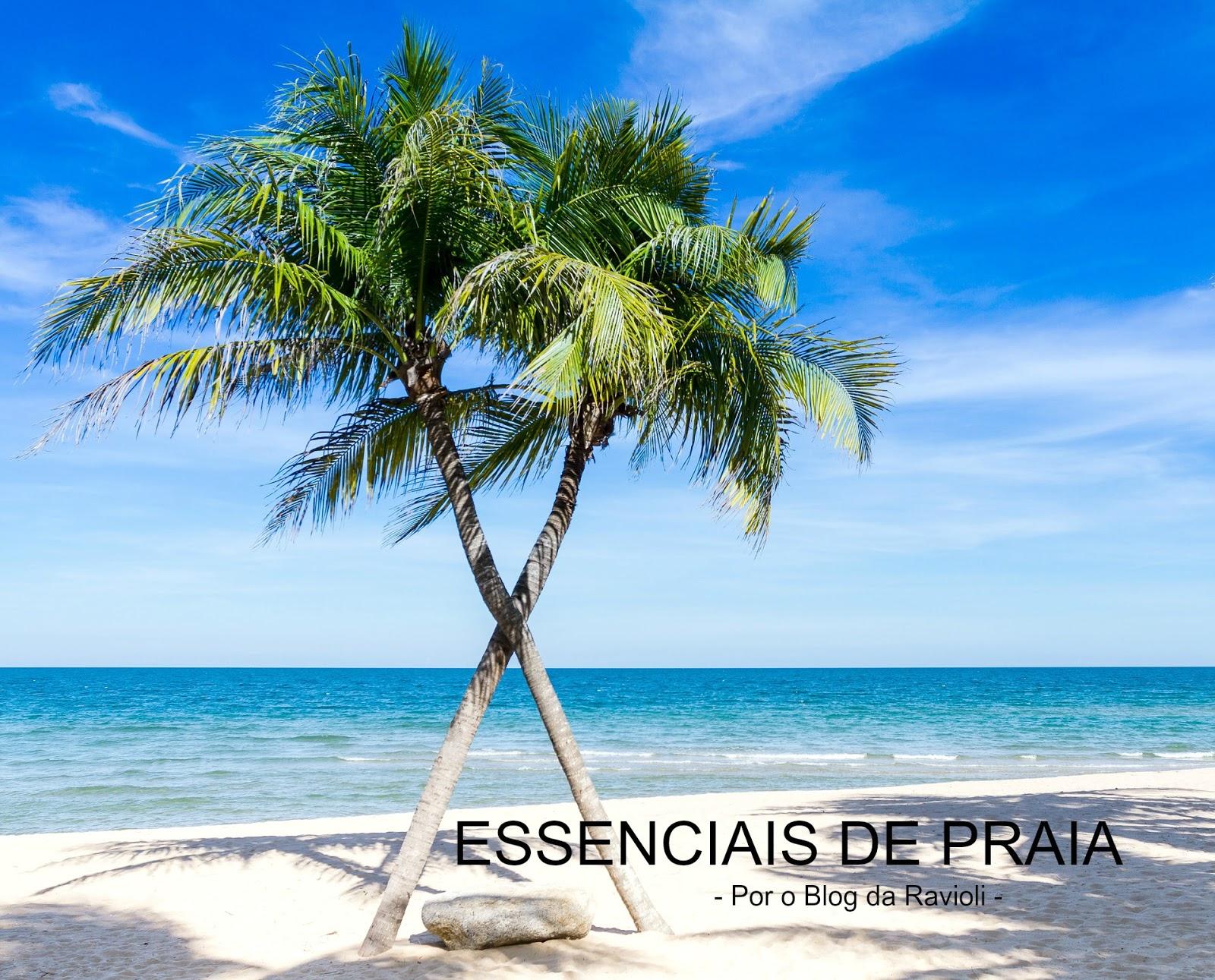 A Ravioli: Essenciais para quem vai à Praia sozinha.