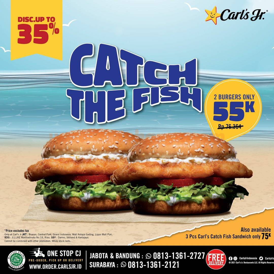 CARLS JR Catch The Fish