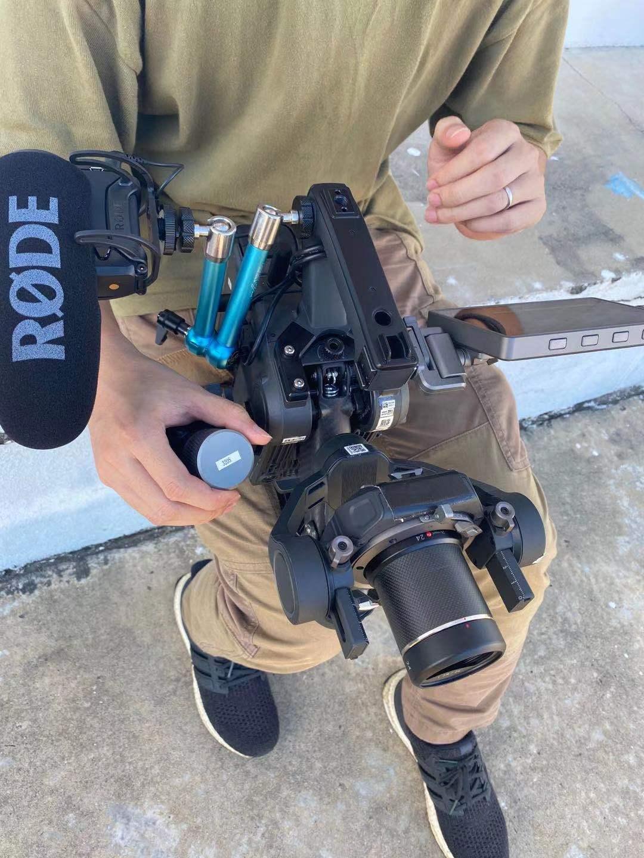 Камера от DJI, совмещеная с подвесом-стабилизатором