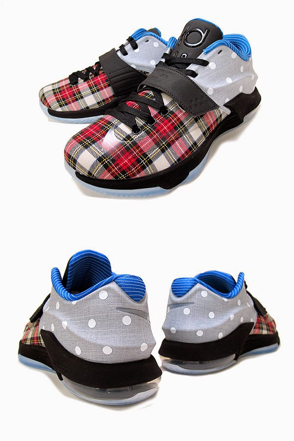 quality design b9dca cbf5e FollowTheKicks: Nike KD 7 EXT Plaid Polka Dots