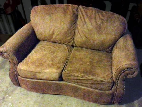 Oversized Ashley Loveseat - $99 (Oklahoma City Craigslist)