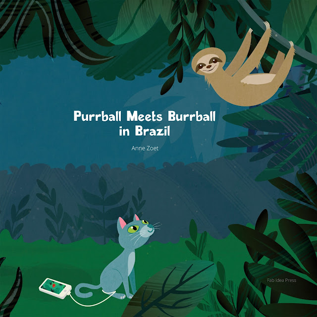 purrball meets burrball in brazil|anne zoet