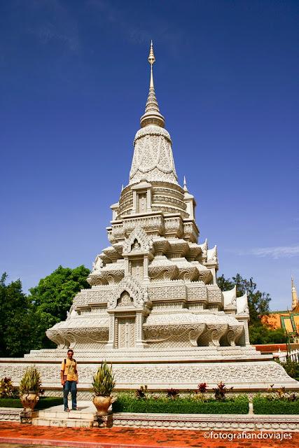 Pagoda en Phnom Penh Camboya