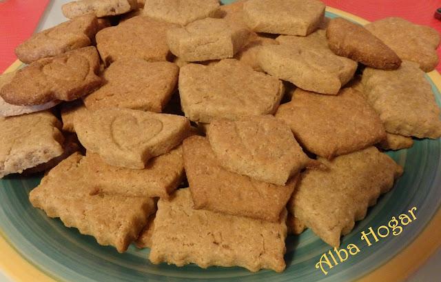 galletas de espelta y mantequilla alba hogar