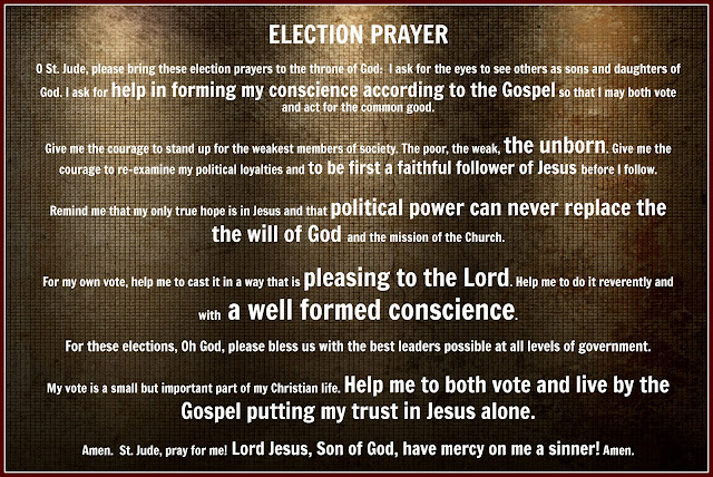 Blessed Mother Mary And Jesus Election Prayers - Tot...