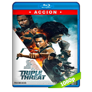 La triple amenaza (2019) BRRip 1080p Latino
