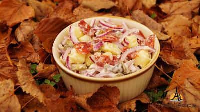 Jesienna sałatka