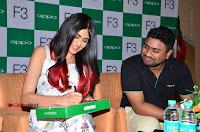 Bollywood Actress Adah Sharma Pos in White Printed Short Dress at OPPO F3 Plus Selfie Expert Mobile Launch .COM 0079.jpg