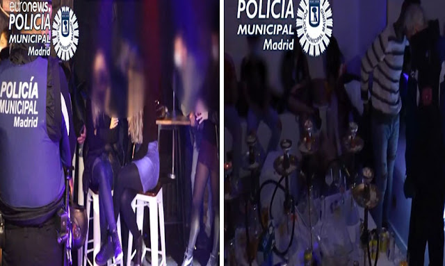 بسبب تفشي كورونا في إسبانيا ... الشرطة تداهم ملاهي وقاعات تقام فيها حفلات غير قانونية في مدريد !