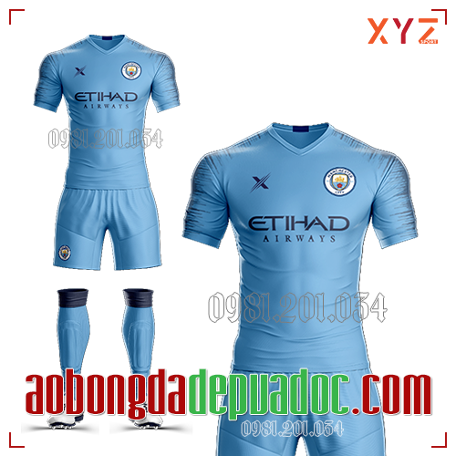 Áo Man City 2019 Sân Nhà