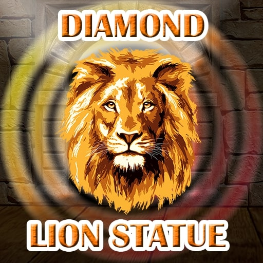 Find The Diamond Lion Statue