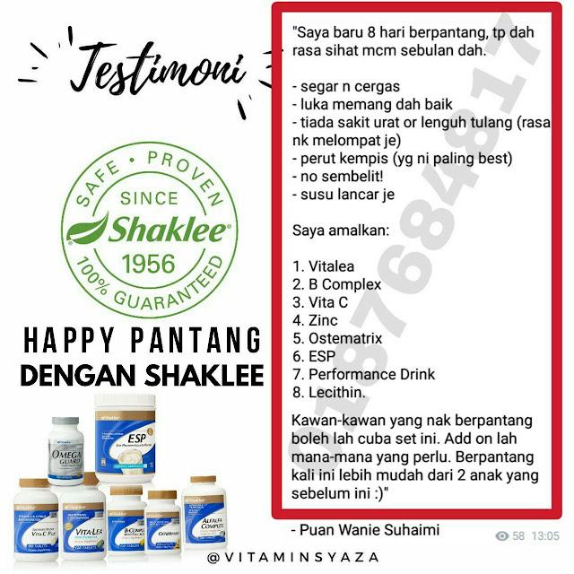 Pengedar Vivix Shaklee Melaka