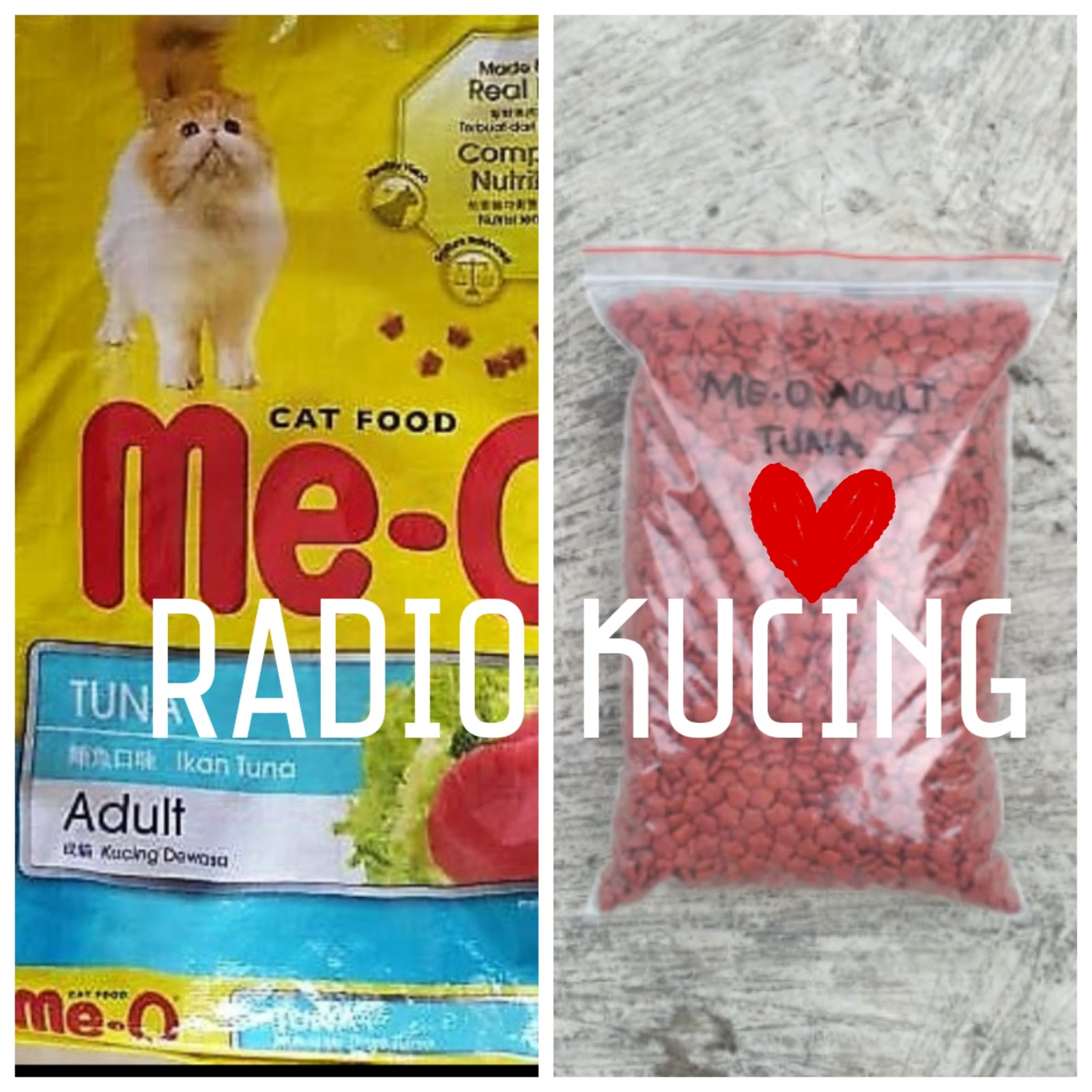 Review Makanan Kucing Me O Adult Tuna Radiokucing Com