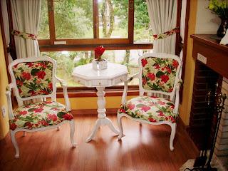 Apartamento Gramado cadeiras de descanso