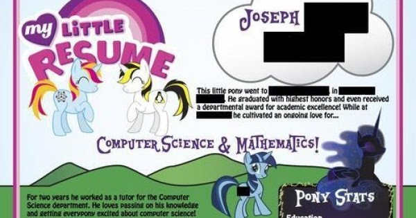horse news  where are they now  the my little resume creator