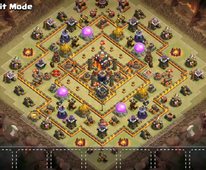 th10 dark elixir farming base new update