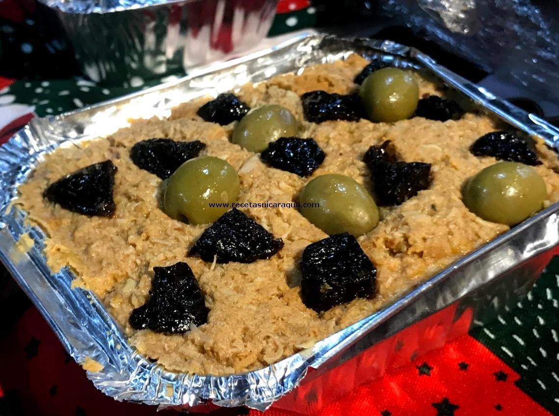 Relleno de Navidad receta