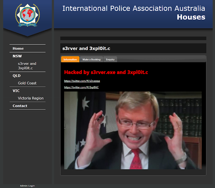 NASA sub-domain and Australian Police targeted by Hackers