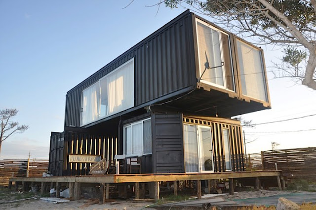 2x40 ft and 2x20 ft Shipping Container Home by Project Container, Uruguay 2