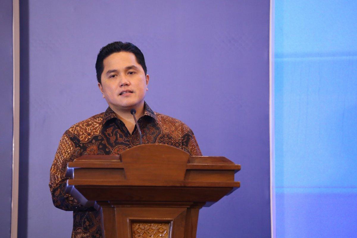 Erick Thohir Pastikan Transformasi Garuda Terus Berjalan Usai Rombak Komisaris