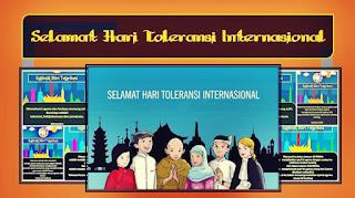 Gambar Kata Ucapan Selamat Hari Toleransi Internasional