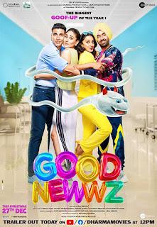 Good Newwz (2019) Full Movie Watch Online Review