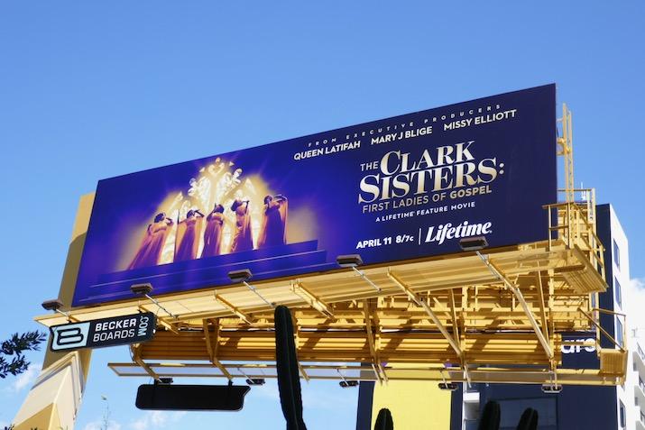 Clark Sisters TV movie billboard
