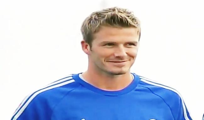 David Beckham biography.