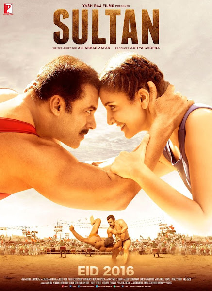 Poster Of Sultan 2016 480p Hindi DVDScr Full Movie Download