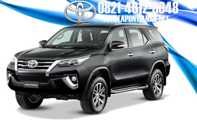 Simulasi kredit mobil Toyota FORTUNER pontianak, harga toyota FORTURNER pontianak, sales toyota pontianak