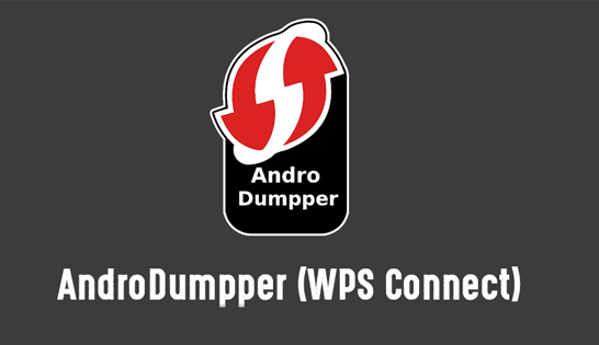 AndroDumpper 3.11 APK for Android ( Wifi WPS Connect )