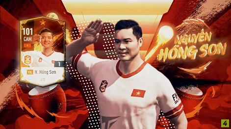 FIFA ONLINE 4 | Soi chỉ số khủng diện mạo mới của Nguyễn Hồng Sơn Vietnam Legends - QBV 1998 và 2000 khiến hàng triệu con tim thổn thức